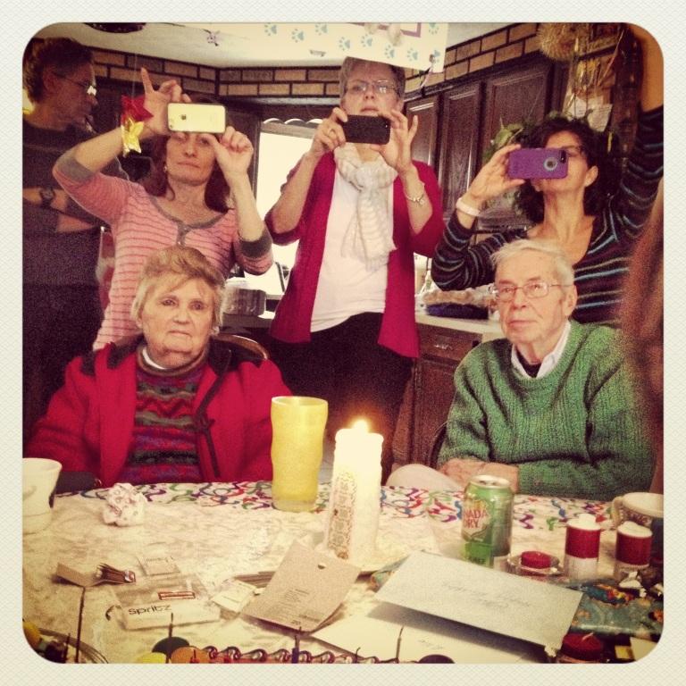 Happy Kodak families